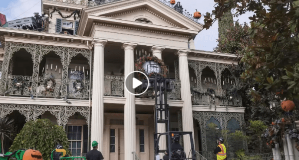 Check Out This Amazing Haunted Mansion Transformation