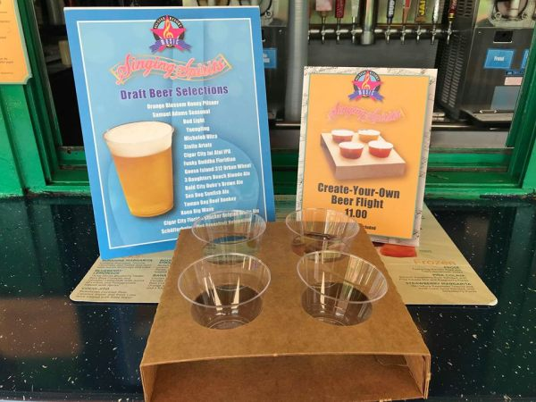 Create Your Own Beer Flight At All Star Music's Singing Spirits 1