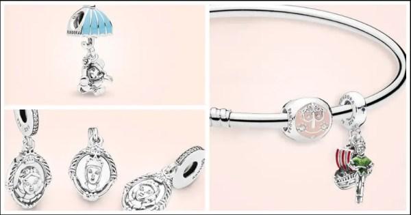 Classic Disney Fairytale Pandora Charms Available on shopDisney