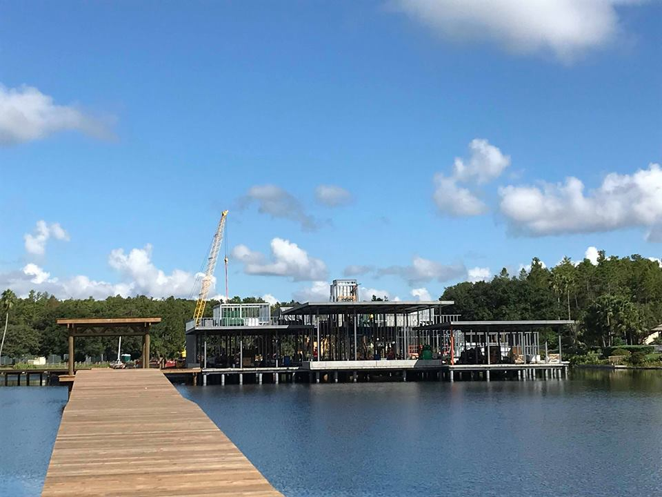 Construction Update for Waterfront Dining Restaurant Coming to Coronado Springs