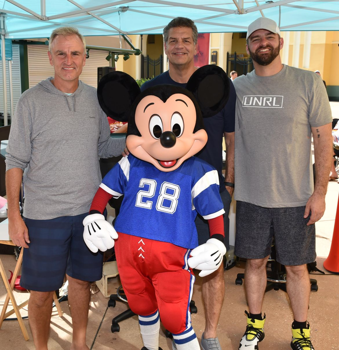 Mickey Mouse Joins Golic & Wingo at ESPN Wide World of Sports Complex