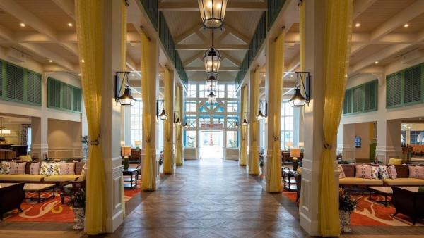 Dining and Lobby Renovations Complete at Caribbean Beach Resort