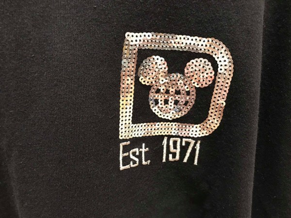 Sparkly Silver Sequined Disney Spirit Jersey Has Arrived 1
