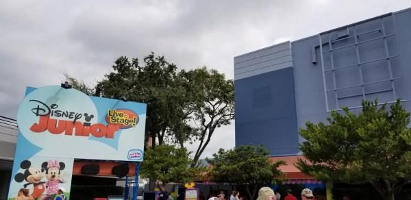 Disney Junior Live on Stage Construction Update