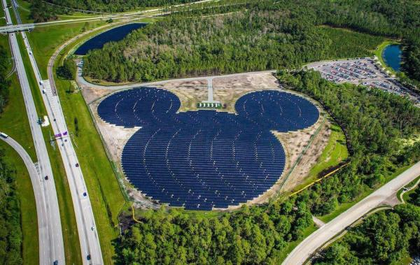 Expanding Solar Energy at the Magic Kingdom