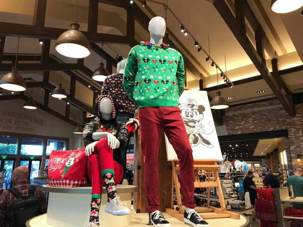 Disney Holiday Merchandise