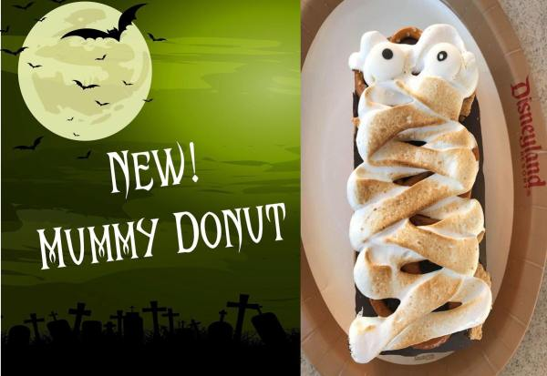 Spooky New Donut Debuts at Disneyland