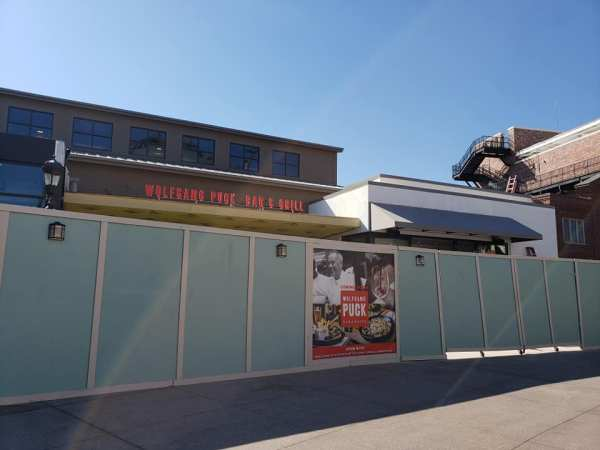 Construction Update - Wolfgang Puck Bar & Grill Disney Springs