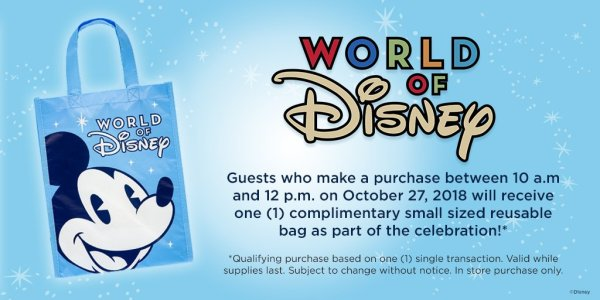 Word of Disney Grand Reveal with Free Small Shopping Bag With Purchase! 1