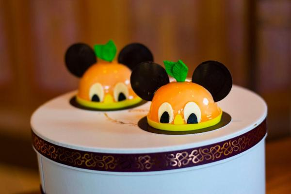Orange Bird Dessert at Amorette's Patisserie for a Limited Time
