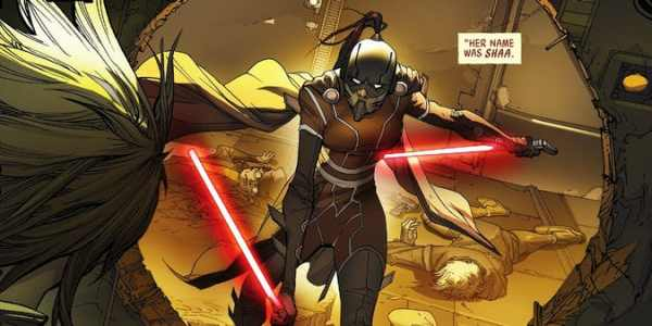 Star Wars Adds a New Lady Sith Lord 2