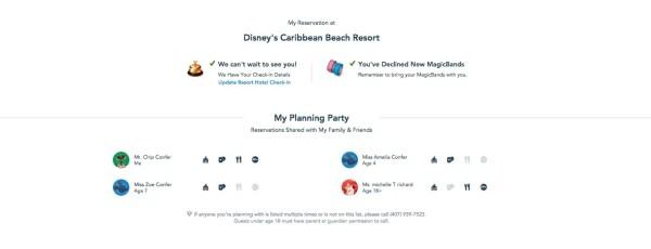 My Disney Experience Website gets an update 1