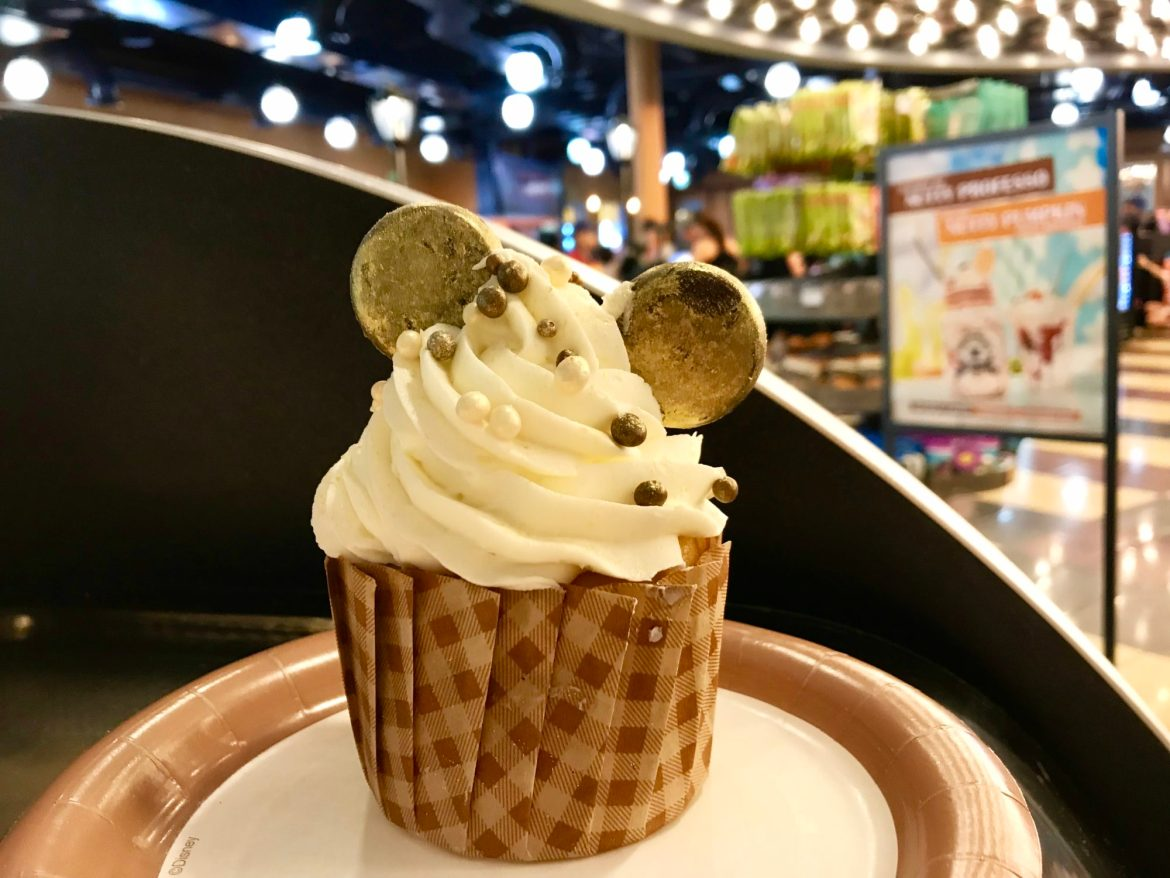 Golden Mickey Cupcake Premieres at All-Star Movies