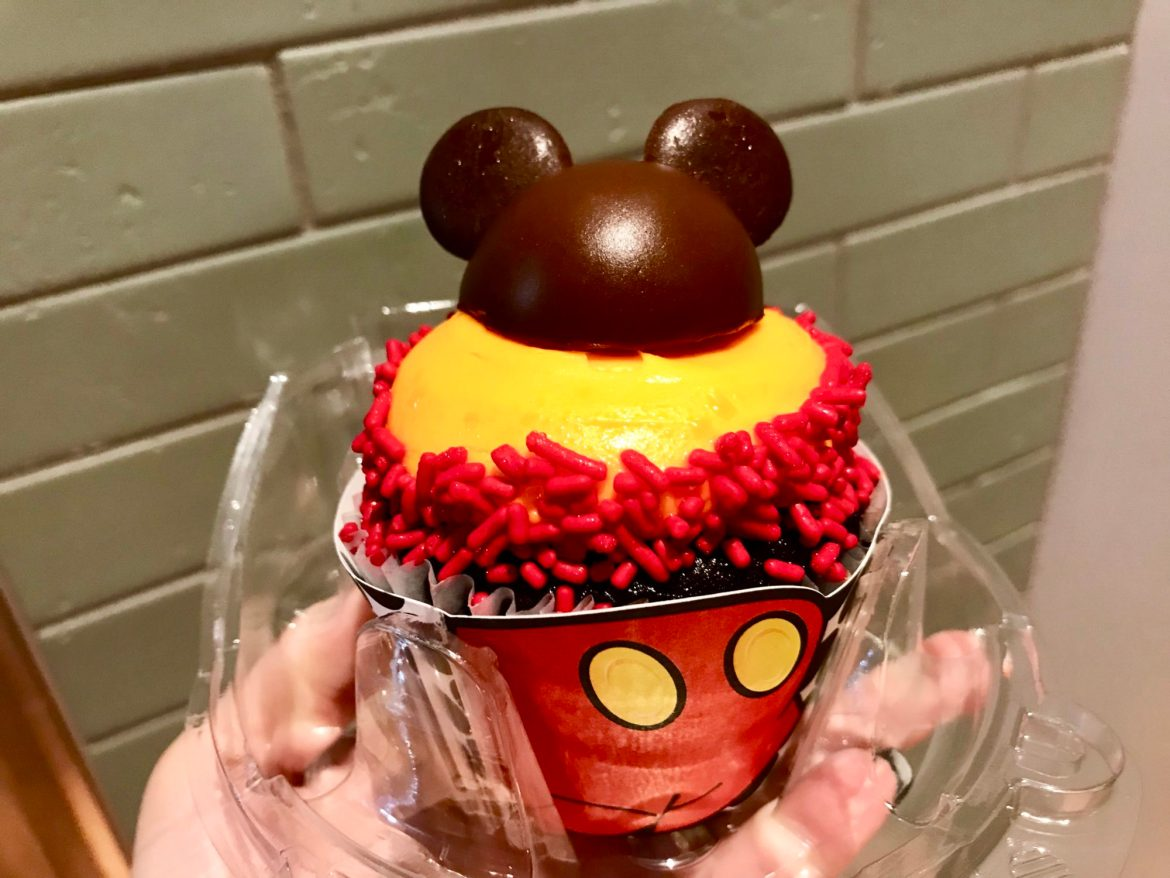 Mickey Mouseketeer Cupcake is Delightful