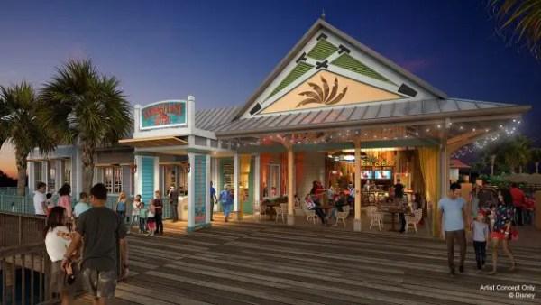 Menu released for Sebastian's Bistro at Disney's Caribbean Resort 1