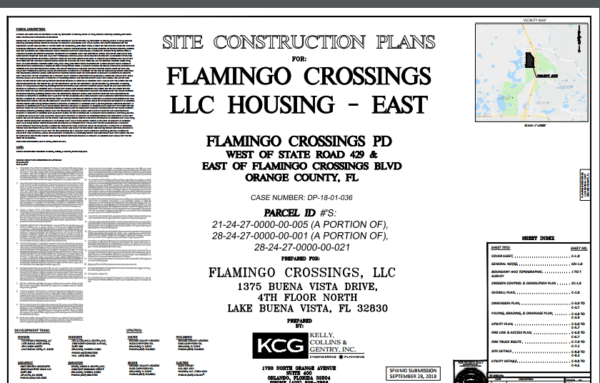 Flamingo Crossing Housing Project Permits Filed