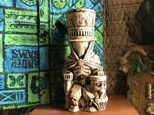 Hat Box Ghost Tiki Mug