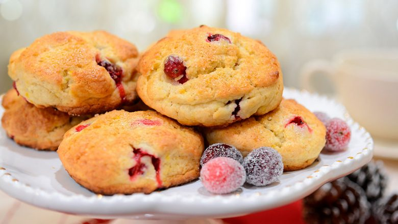Recipe – Fezziwig's Cranberry Christmas Scones