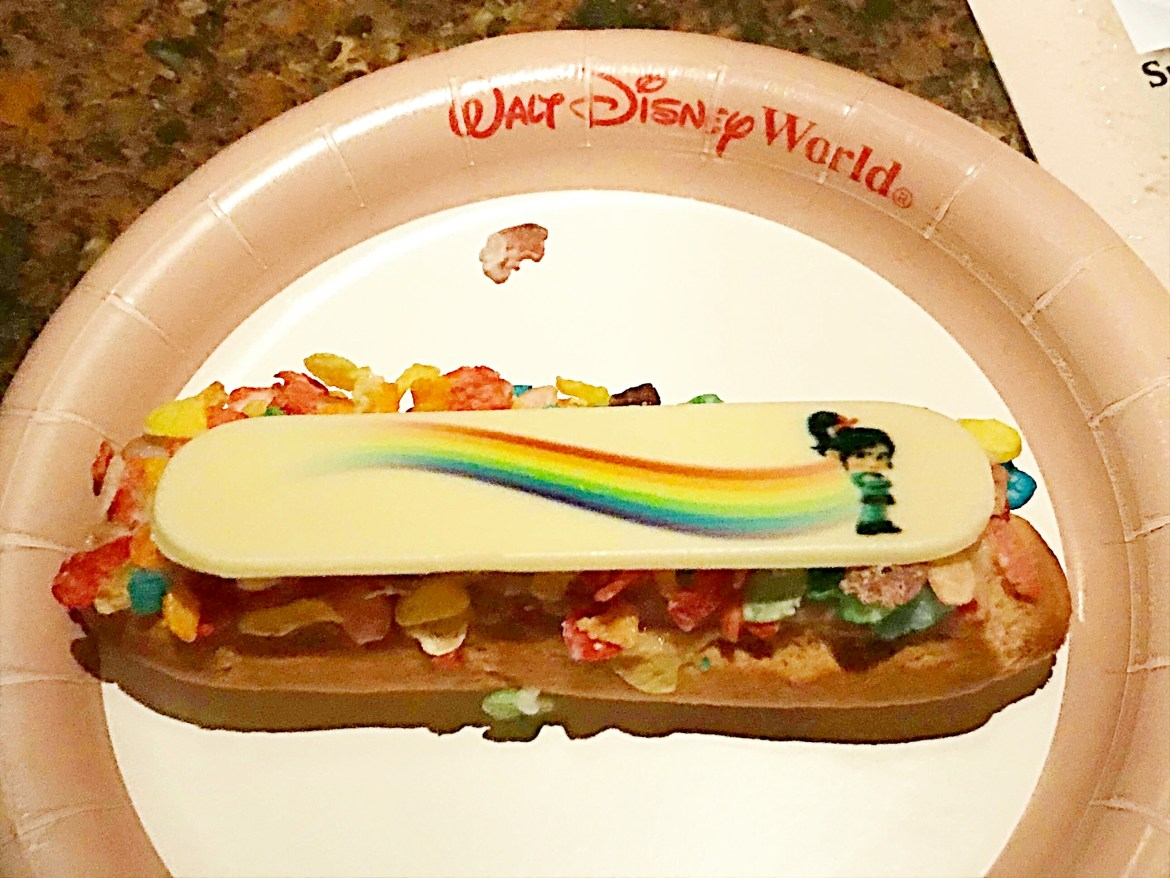 Vanellope Eclair is a Hit at Mickeys Very Merry Christmas Party