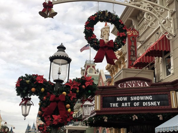 Christmas has Officially Come to Magic Kingdom