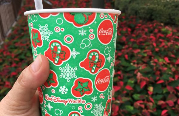 Out with Halloween, In With Christmas Cups at Walt Disney World