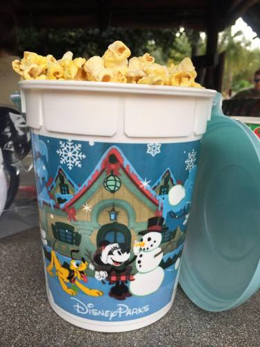 Holiday Souvenir Popcorn Buckets At The Disney Parks 4