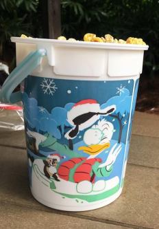 Holiday Souvenir Popcorn Buckets At The Disney Parks 2