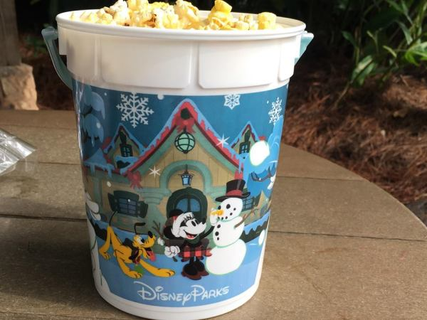 Holiday Souvenir Popcorn Buckets