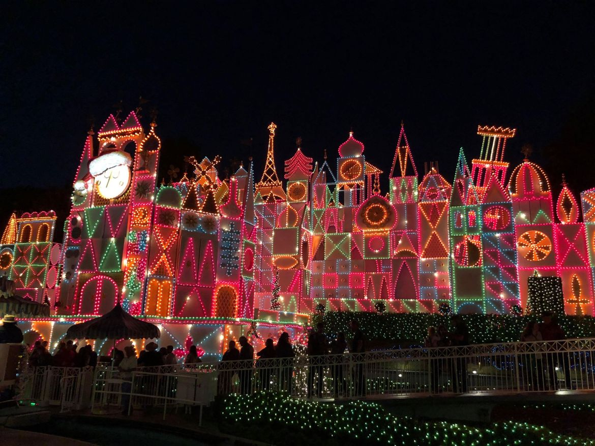 It's a Small World Lit Up For Christmas Around the World