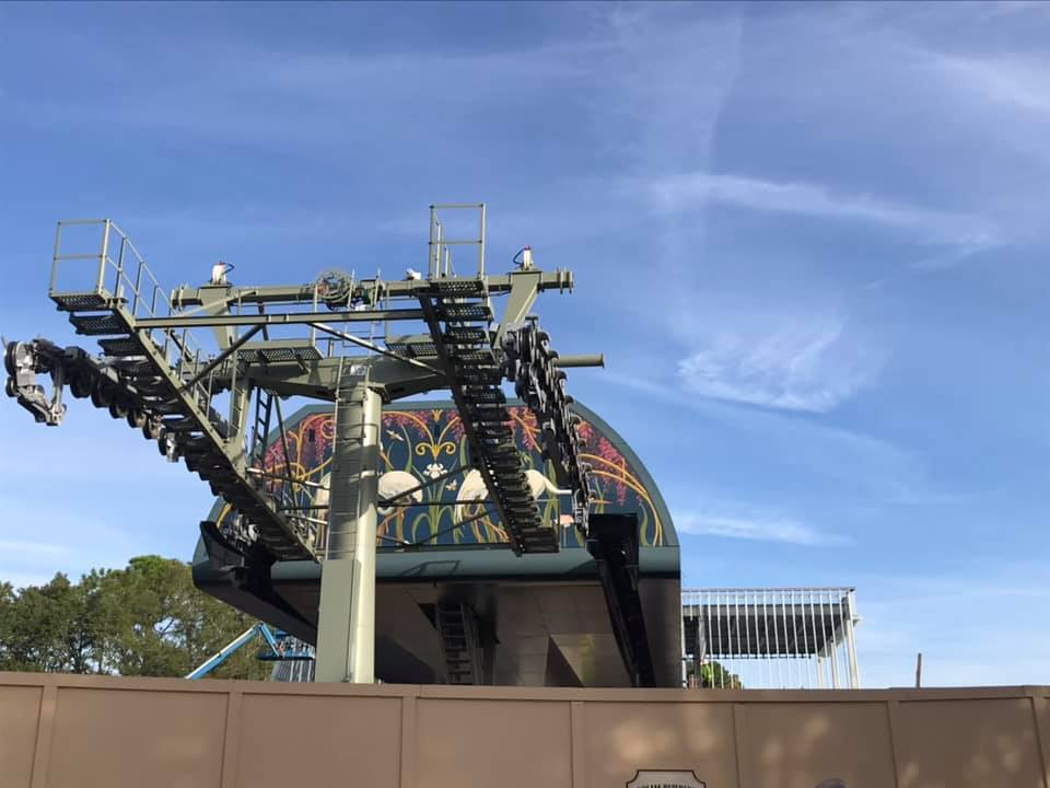 This Just In- Skyline Update – Epcot Terminal is Looking Great