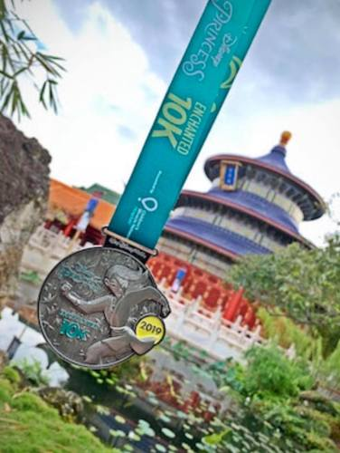 runDisney Princess Medal Reveal 2019