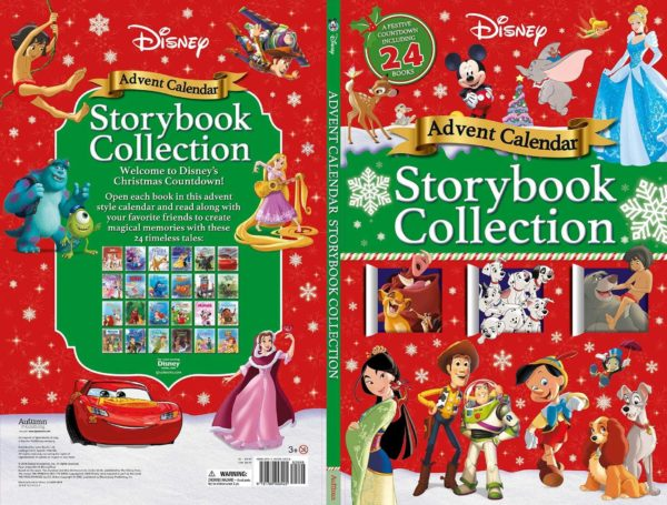 Count Down To Christmas With The Disney Storybook Advent