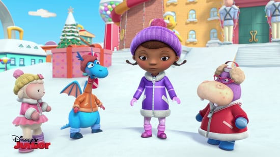Santa Clause is coming to Doc McStuffins