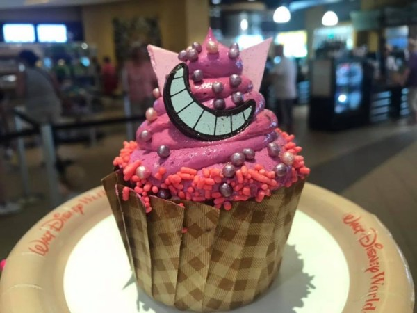 Cheshire Cat Cupcake Appears At All Stars Music