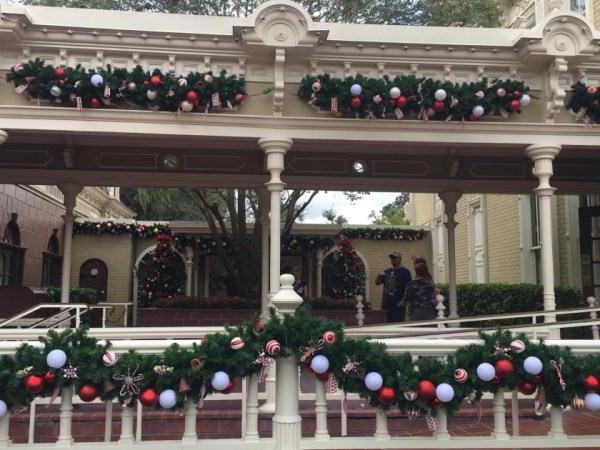 Magic Kingdom Holiday Decor 6