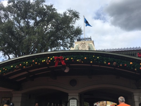 Magic Kingdom Holiday Decor 3
