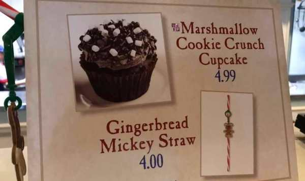 Try The Mother Of All Marshmallow Cupcakes at Epcot 1