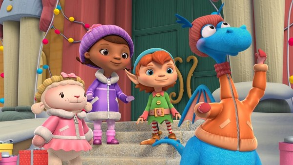 Santa Clause is Coming To Doc McStuffins on Disney Junior! 1