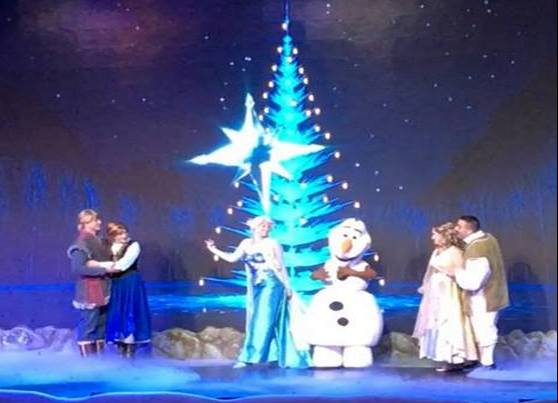 Frozen Sing-Along Celebration adds Special Holiday Finale