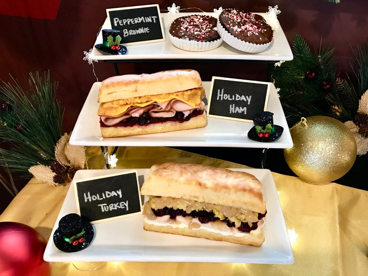 Earl of Sandwich New Holiday Eats Preview