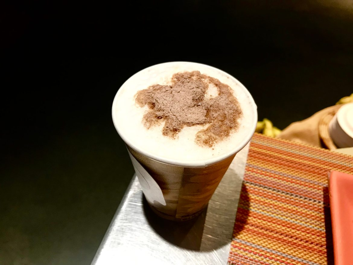 Simba Latte Art at Animal Kingdom Lodge