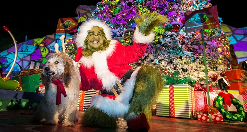 """Add Extra Green To Your Holiday As """"Grinchmas"""" Returns To Universal Studios Hollywood"""