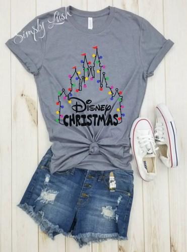 Disney Christmas Shirts.This Disney Christmas Shirt Makes Me Feel Cheery And Festive