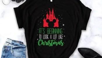 Disney Christmas Shirt Designs.This Disney Christmas Shirt Makes Me Feel Cheery And Festive