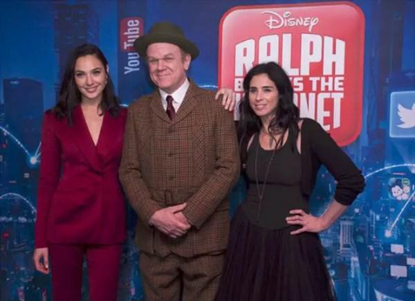 On The Blue Carpet - Ralph Breaks The Internet - UK Screening Gala