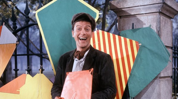 Dick Van Dyke Explains Dual Role in Mary Poppins