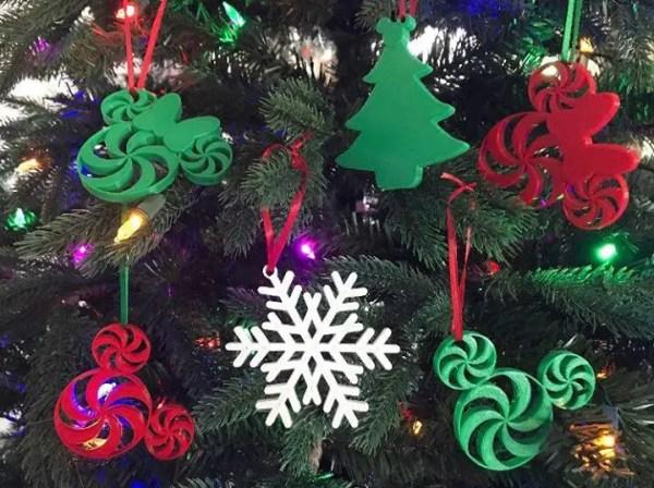 Cheerful Disney Ornaments