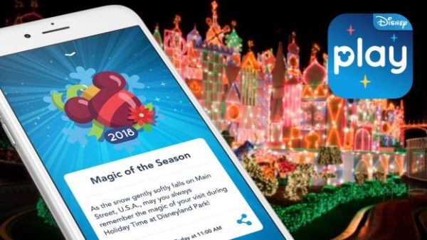 New Holiday Features Available in the Play Disney Parks App