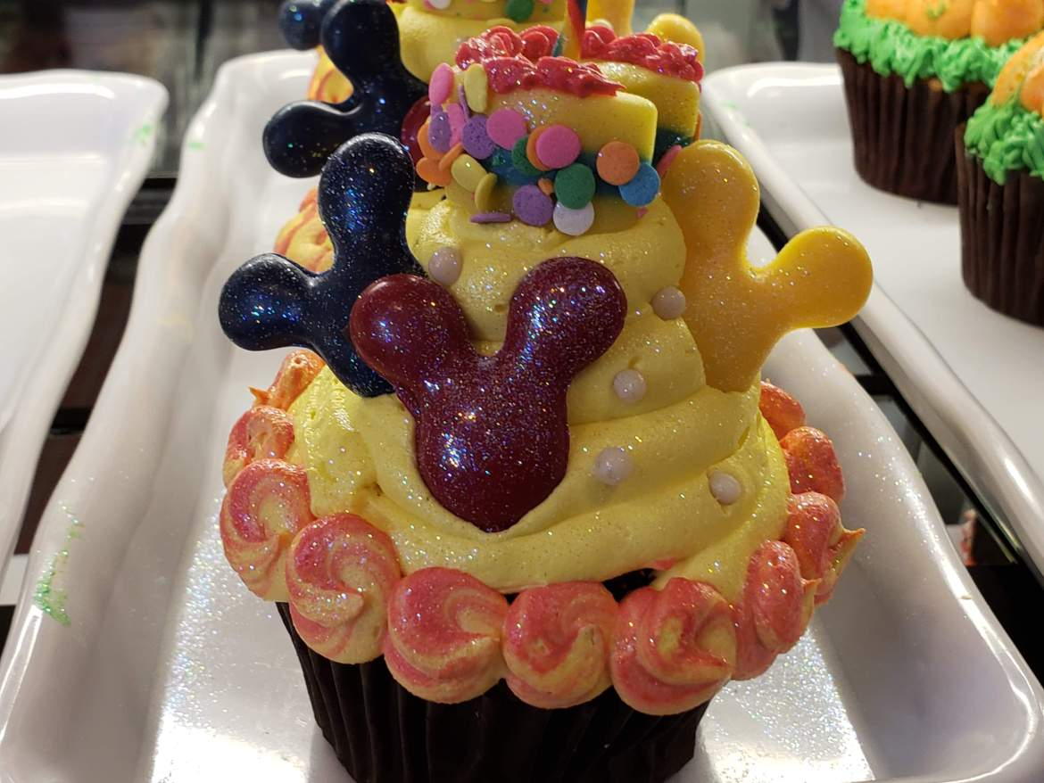 Contempo Cafe Celebrates Mickey's Birthday With An Amazing Cupcake