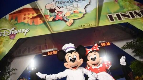 Disney Wine & Dine Half Marathon Brings Food, Drink, and Sweat